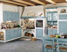 Provanso stiliaus virtuvės interjeras - pagrindiniai dekoravimo ir dekoravimo aspektai